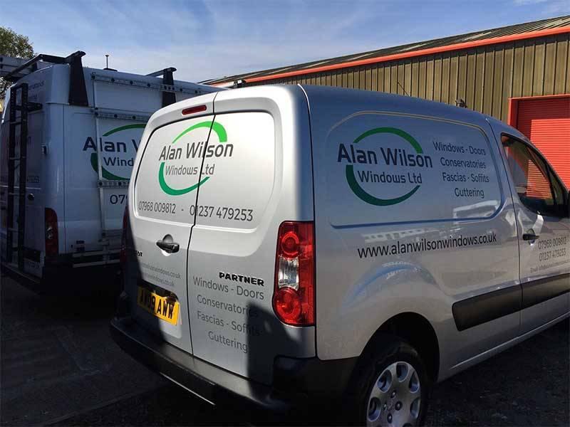 New Alan Wilson Windows Van